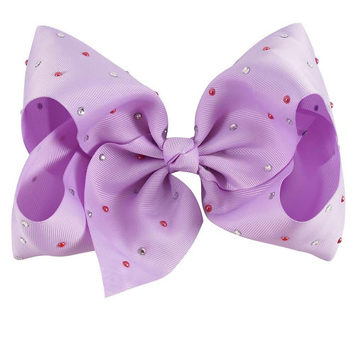 Purple nina  bow