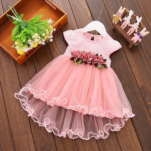 Lucy pink dress