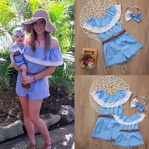 'Lila' Mother And Daughter Playsuit