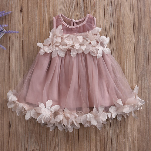 PRETTY GIRLS FLOWER DRESS C