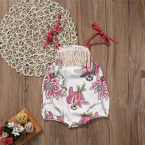 'London' Baby girls Romper
