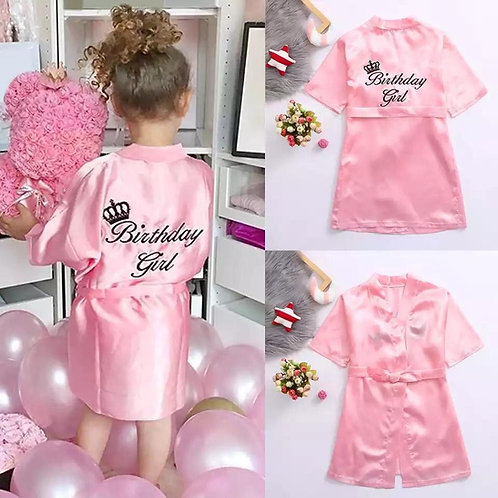 Birthday Girl Dressing Gown 1-2 week delivery