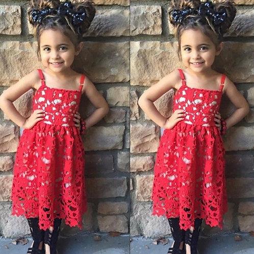 'Mika' kids Lace Dress