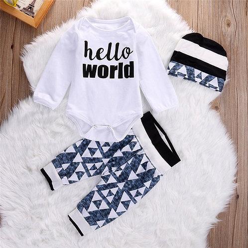 'Hello World' Boys Set