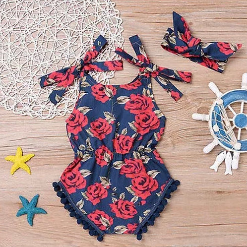 'Deedee' girls Romper