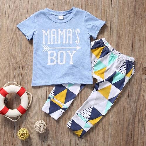 'Mama's Boy' Boys Blue Set