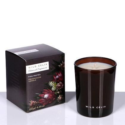 African Botanics Jo Malone Neom Organics Luxury Botanical Natural Non-GMO Soya Wax Home Fragrance Pink Protea Vegan Candle