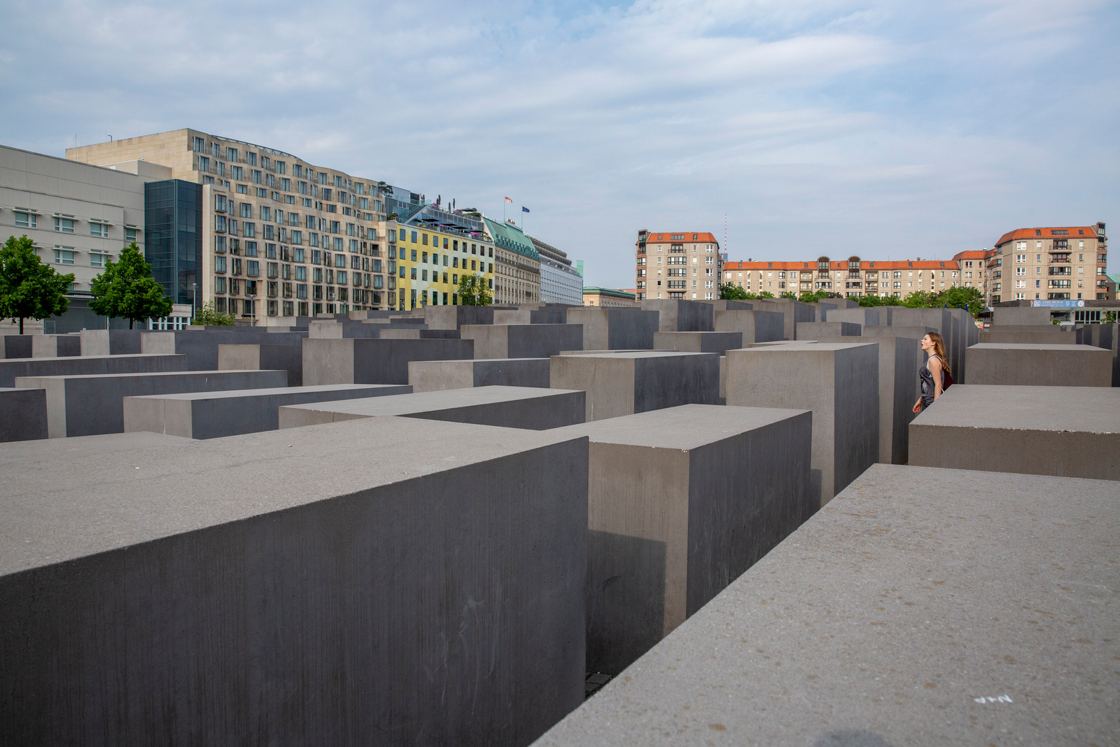 The Memorial to the Murdered Jews of Europe, Berlin
