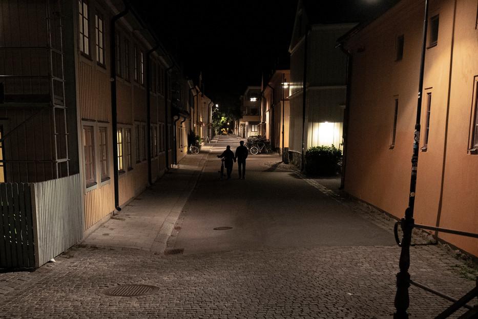 Uppsala night