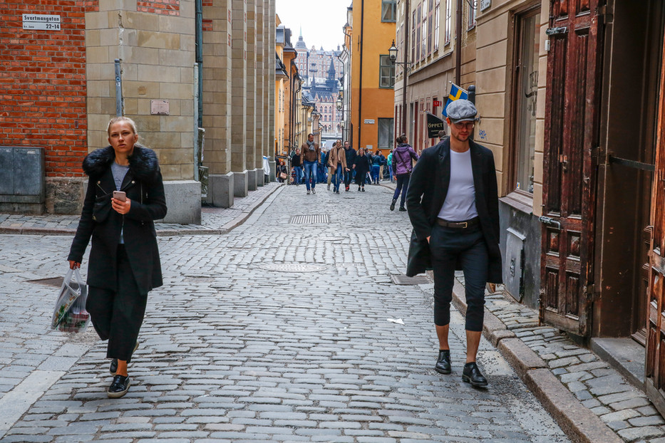 Stockholm, the King's Birthday