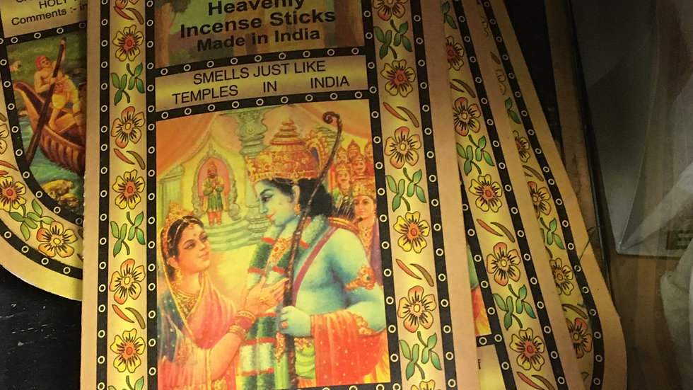 India Temple Incense 15g + 25g