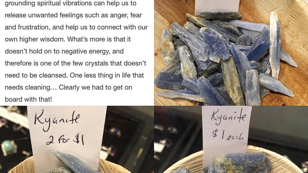 Blue Kyanite (Various Sizes)