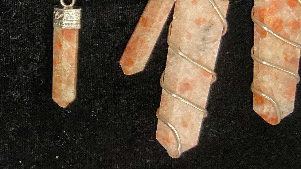 Sunstone Pendants