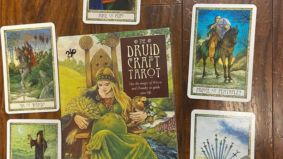 Druid Craft Tarot Deck/Book Set