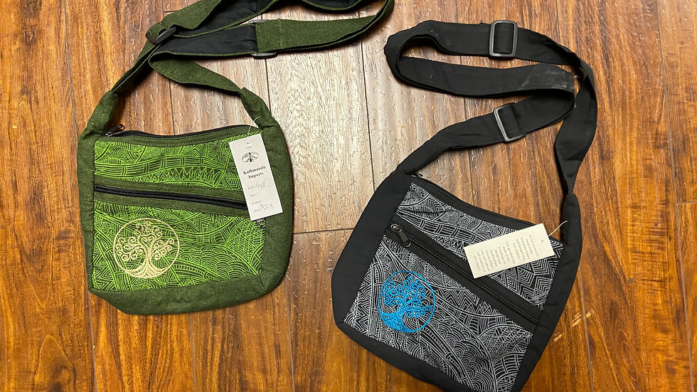 Tree Messenger Bags