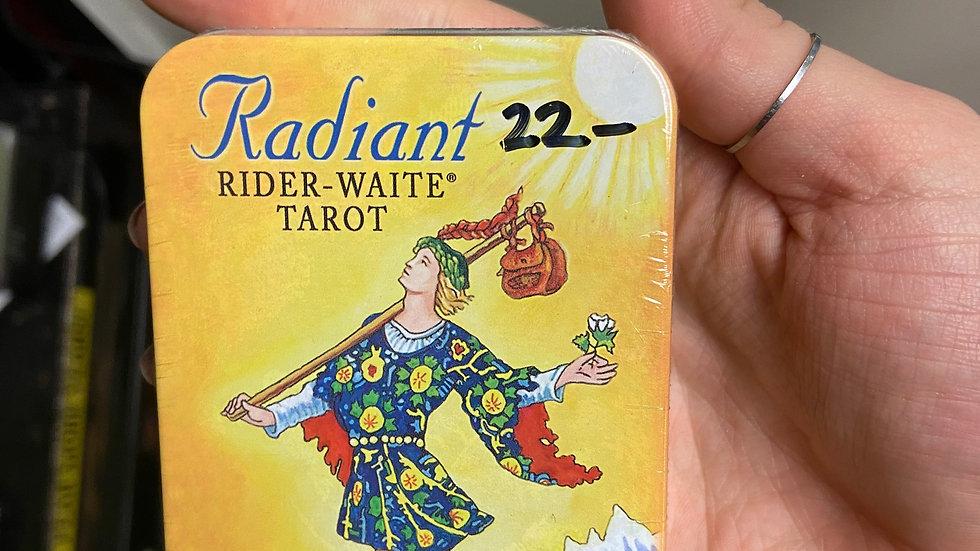 Radiant Rider-Waite Deck in a Tin