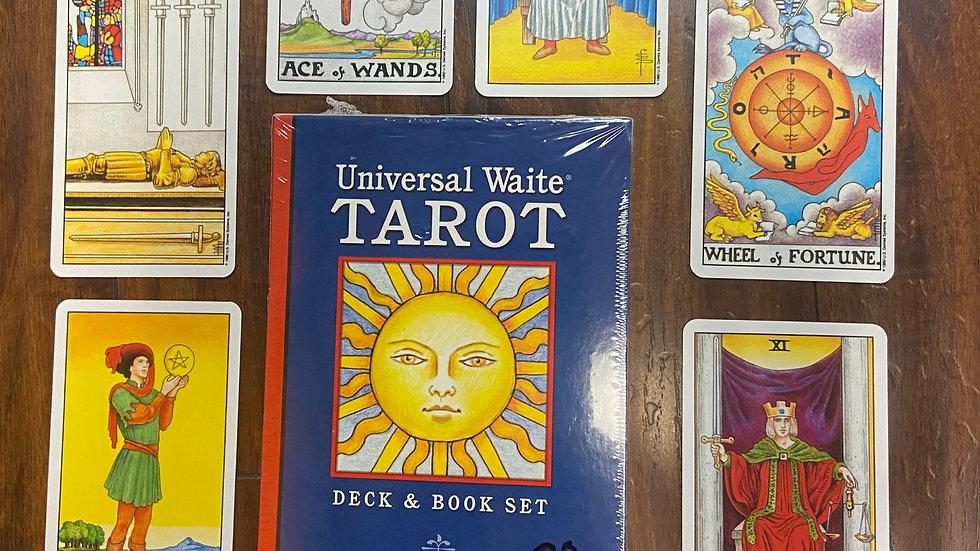 Universal Rider-Waite Deck/Book Set