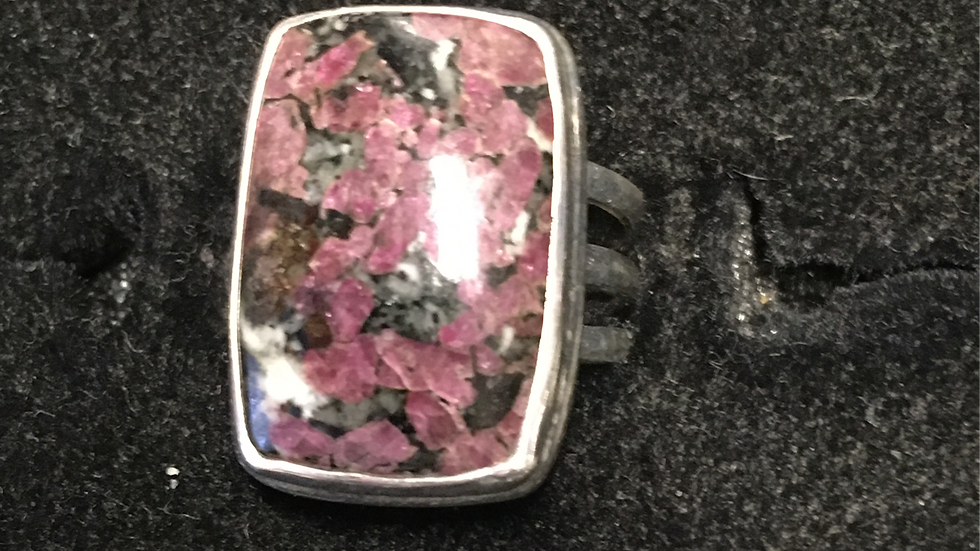 Eudialyte Sterling 8
