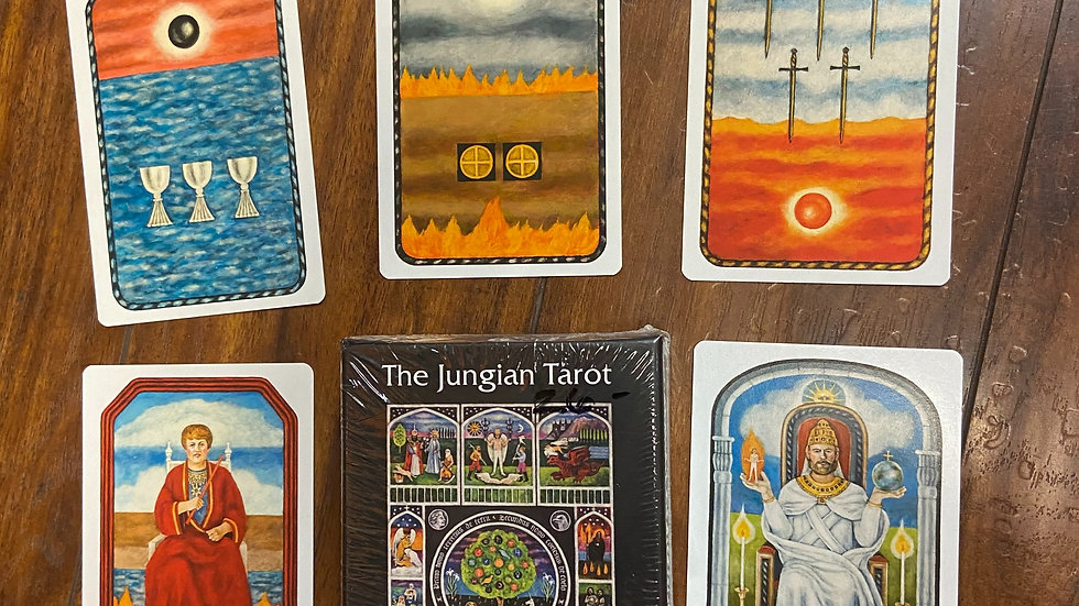 The Jungian Tarot and Book