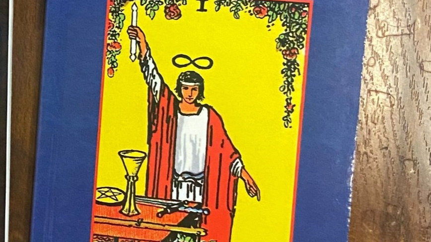 The Pictoral Key to Tarot Book