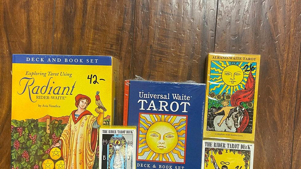 Original Waite Decks and Tarot Books