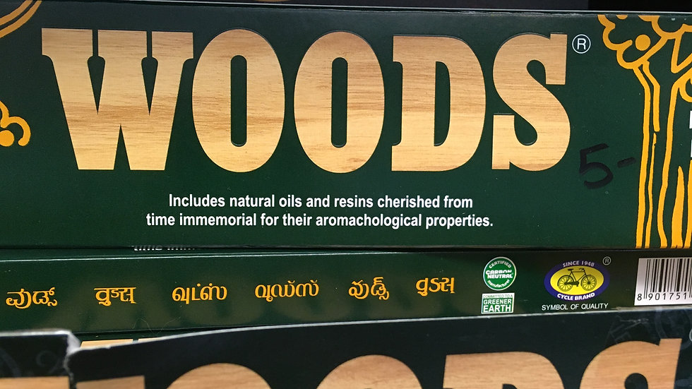 Woods incense 20g