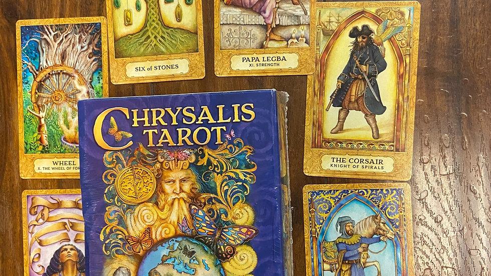 Chrysalis Tarot with Book