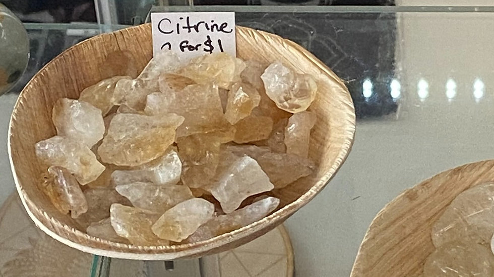Citrine Raw XS (2 for $1)