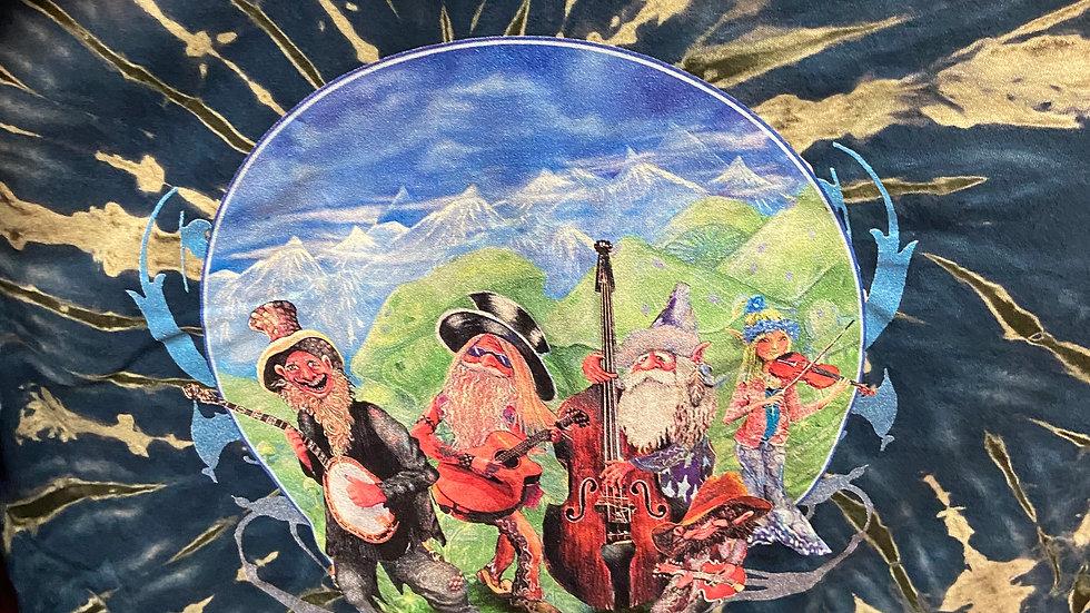 Gnome Band Tie Dye
