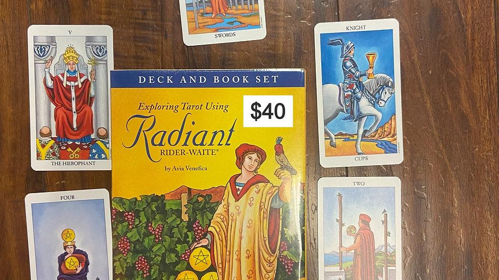 Radiant Rider-Waite Deck/Book Set