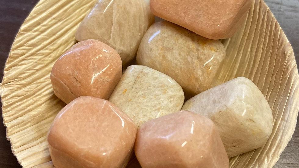 Moonstone-Peach Tumble Pocket