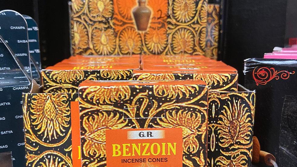 Benzoin Incense Cones