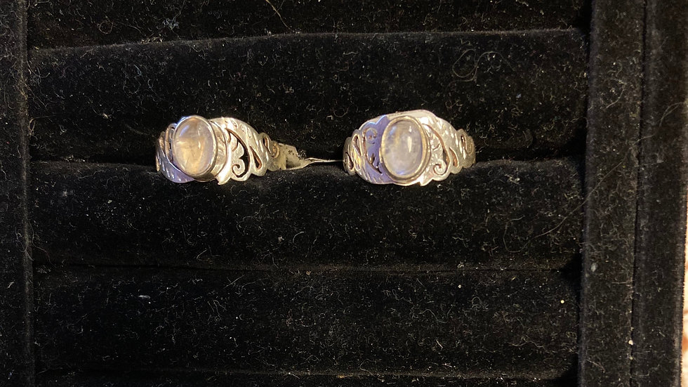 Moonstone Ring Size 9, 9 1/4