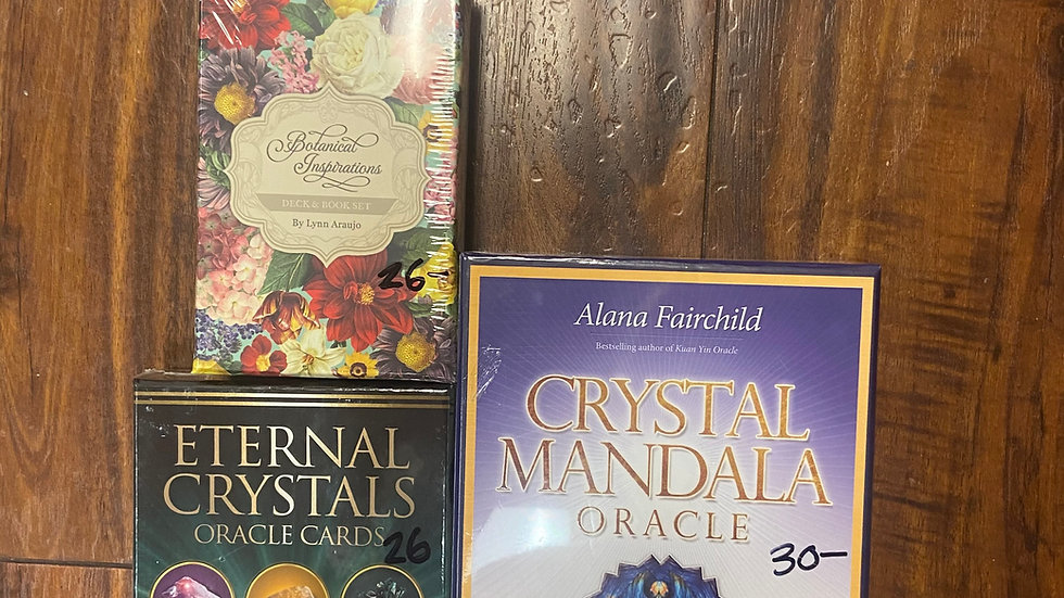 Crystal and Botanical Oracle