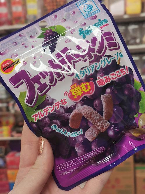 Fettucinni Gummy Candy Grape