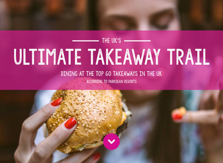 THE UK'S ULTIMATE TAKEAWAY TRAIL, DINING AT THE TOP 60 TAKEAWAYS IN THE UK