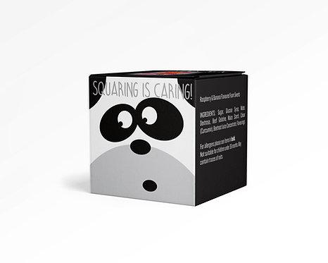 Square Sharing Panda Box - Foamy Mix