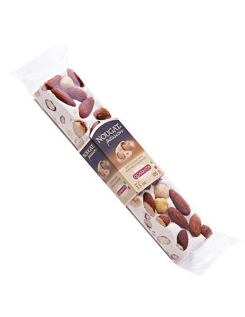 Quaranta Soft Nougat Stick With Almonds & Hazelnuts 100g