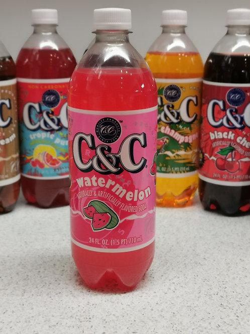 C&C Watermelon Soda