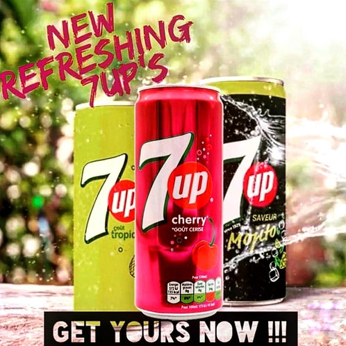 7up Tropical Exotique - France Import