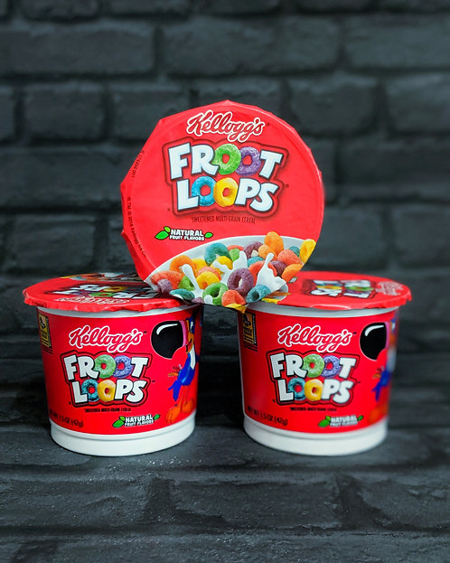 Froot Loops single serve pot
