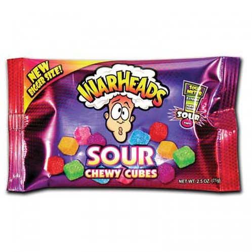 Warheads Sour Chewy Cubes (V)