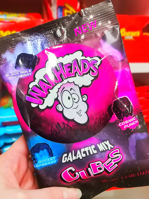 Warheads Galactic Sour Chewy Cubes