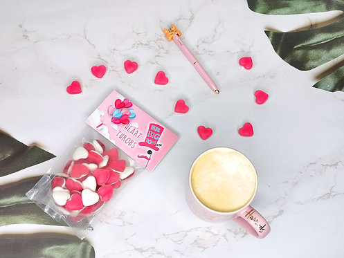 Mothers Day Heart Throbs Pouch 150g