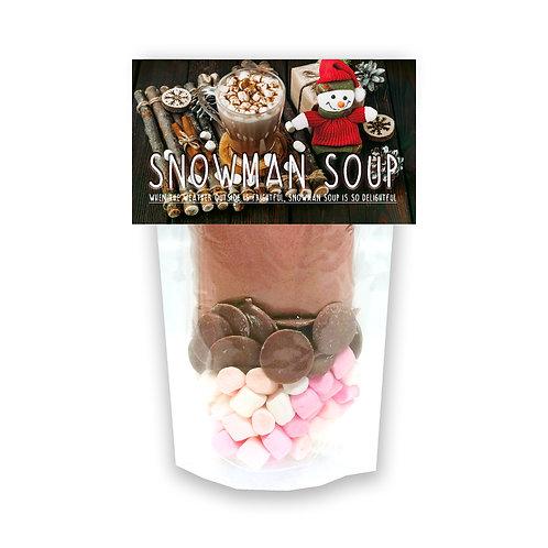 Snowman Soup Hot Chocolate Set
