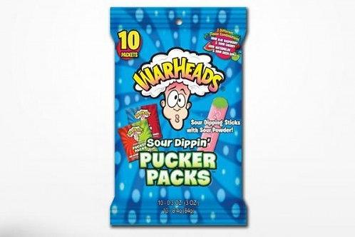 Warheads Sour Dippin Pucker Pack