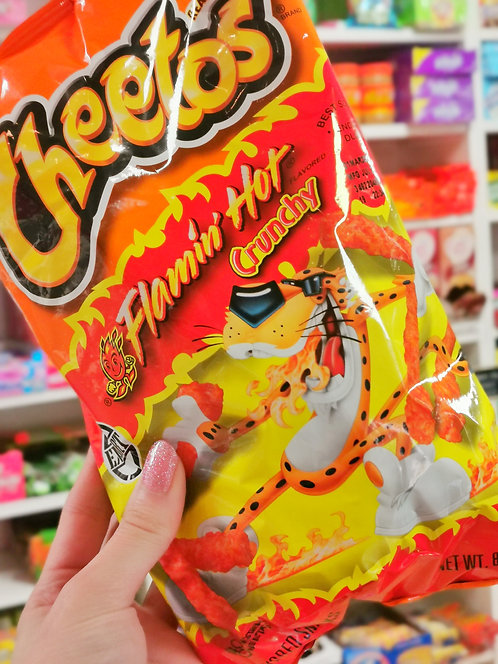 Crunchy Flamin Hot Cheetos