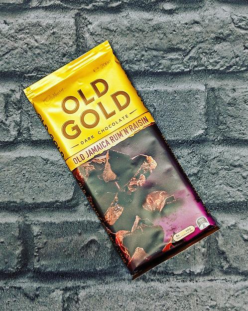 Old Gold (Old Jamaica) rum & raisin