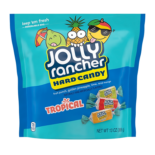 Jolly Rancher Tropical Hard Candy 13oz