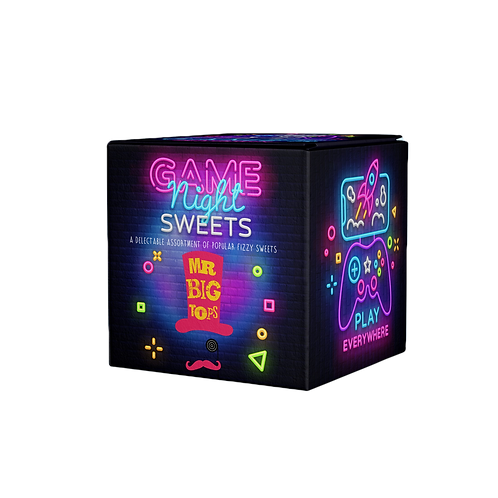 Game Night Sweet Cube (DF, GF, V, VE)